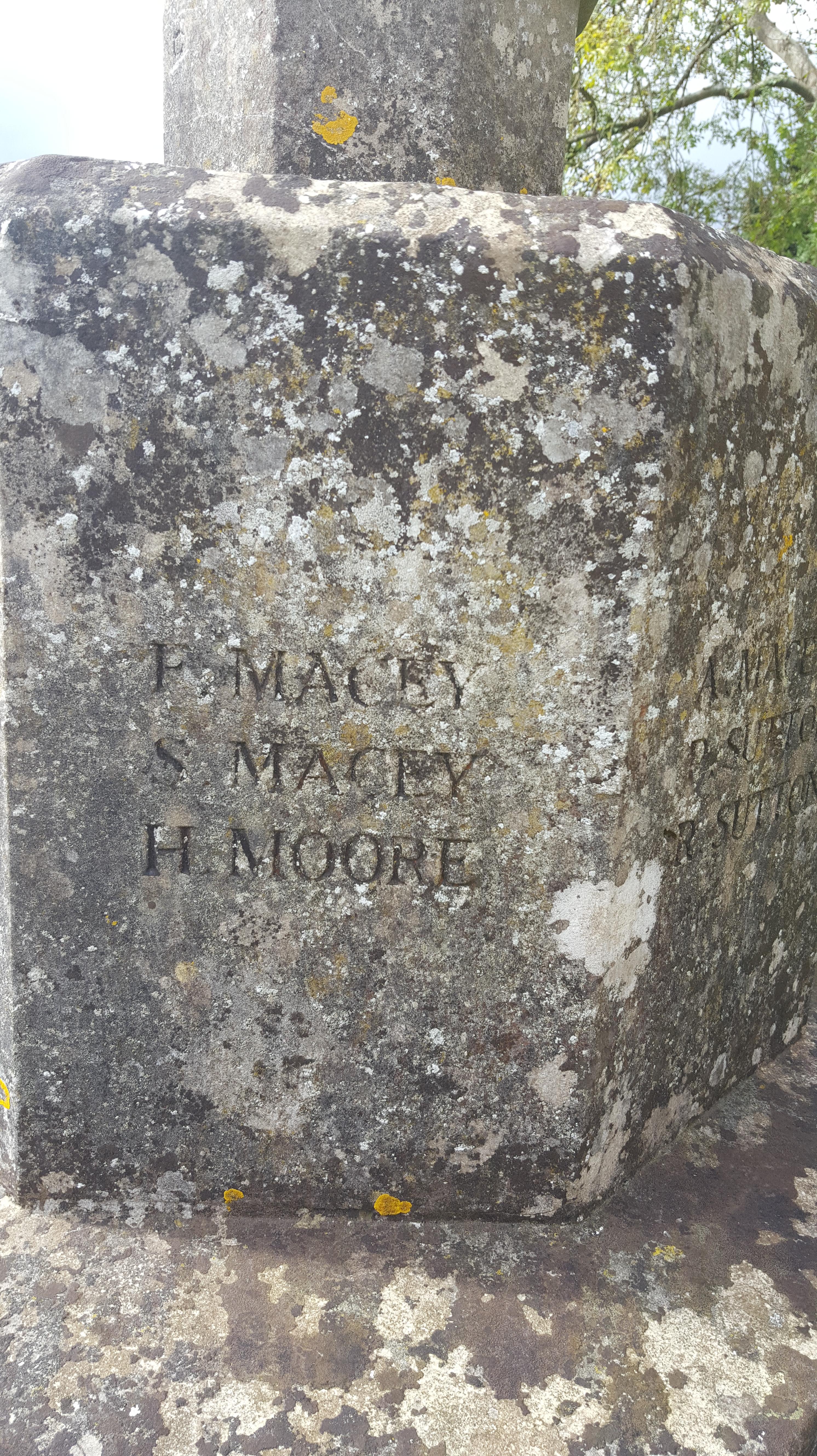Chilmark memorial F S Macey